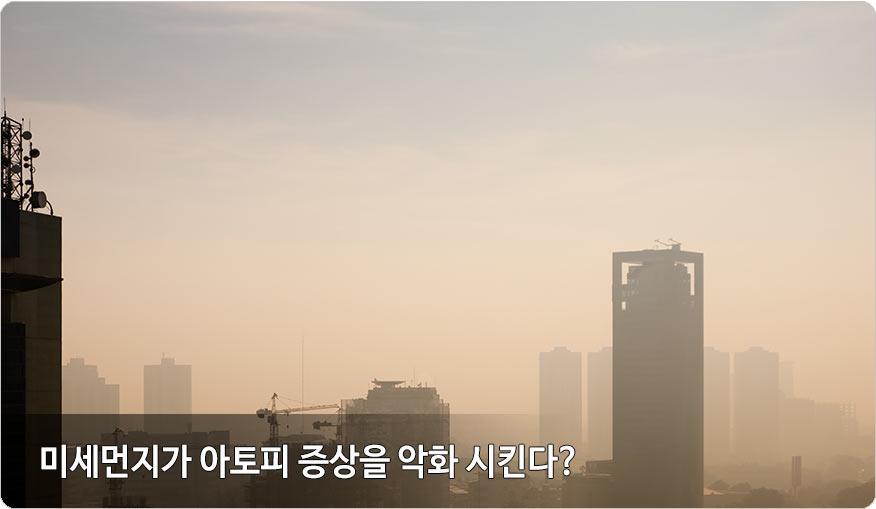 미세먼지와아토피
